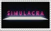 cringe simulacra stamp by ohnonononot