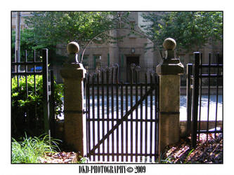 Cemetery Gate by DKD-Photography
