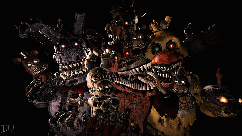 We 39 re not scary once you know us fnaf sfm by jr2417 on deviantart - Fnaf 3 not scary ...