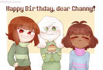 Happy birthday to Channy~!