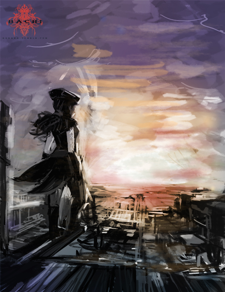 sunset by KusanagiHazumi
