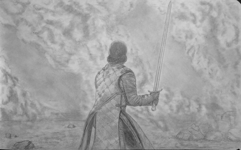 Jon Snow by MisaelRubio
