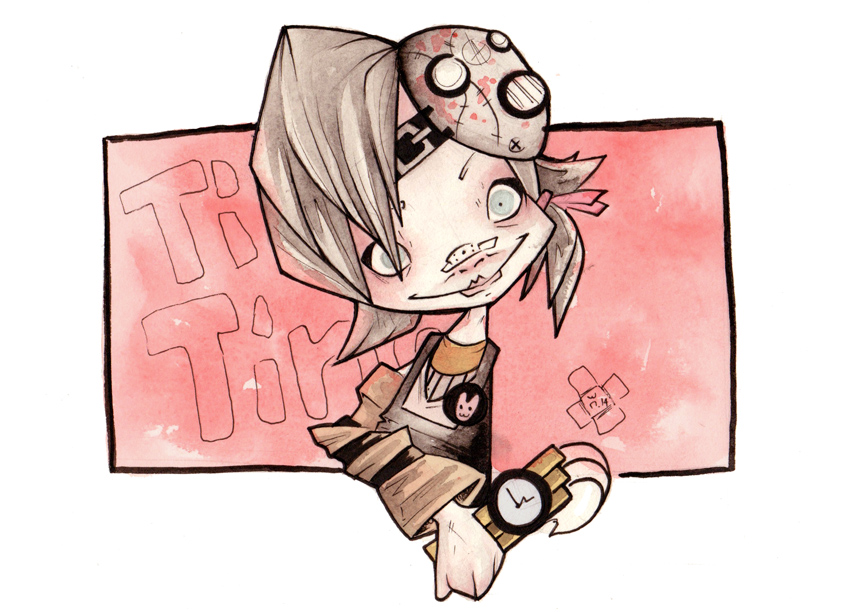 BORDERLANDS 2 : Tiny Tina by willymerry