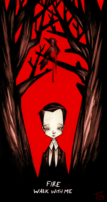 TWIN PEAKS - Fire Walk With Me by willymerry
