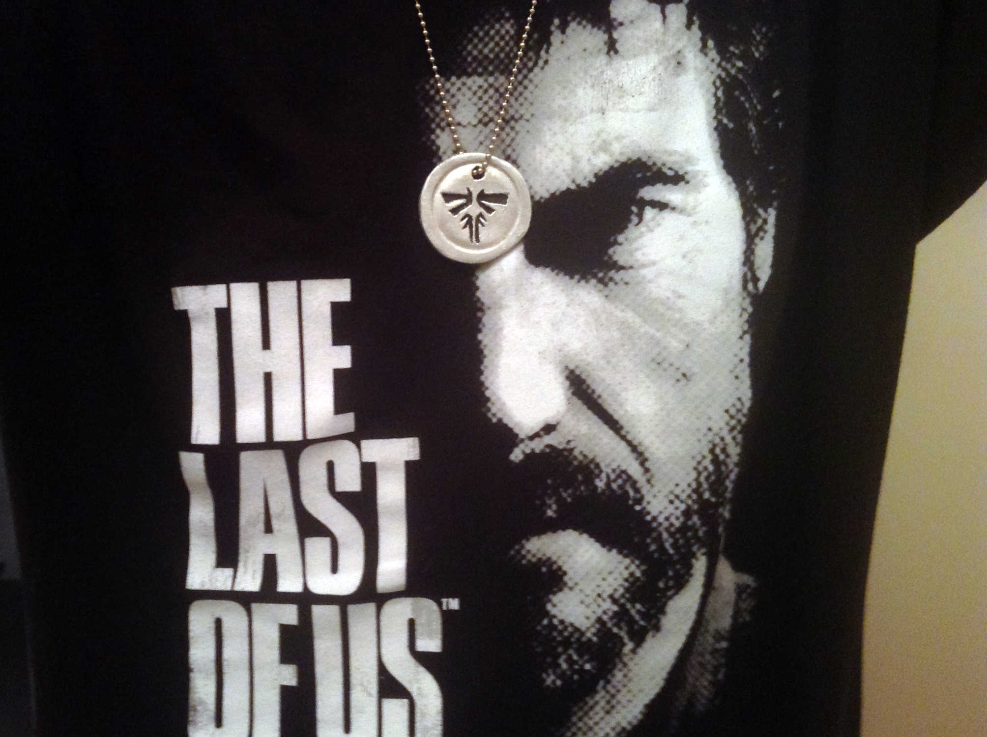The last of us wearable firefly pendant by pm7x on deviantart the last of us wearable firefly pendant by pm7x mozeypictures Gallery
