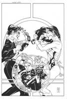 Unpublished Wonder Woman Cover by DrewEdwardJohnson