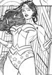 Wonder Woman panel 3