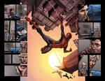 Spider-Man spread