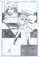 Supergirl commission one by DrewEdwardJohnson