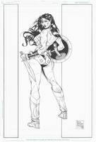 Wonder Woman To War by DrewEdwardJohnson