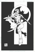 Batgirl for Julie and Dustin by DrewEdwardJohnson