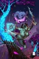 Telara Chronicles 2 Colors by DrewEdwardJohnson