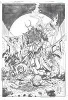 Telara Chronicles 3 Pencils by DrewEdwardJohnson