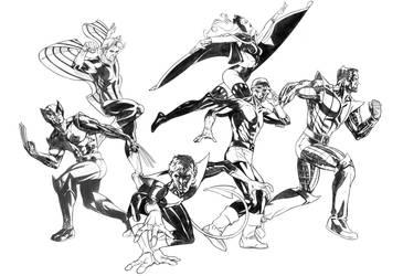 Classic X-Men by DrewEdwardJohnson