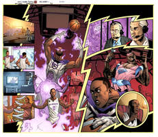 Sports Illustrated Comic Story by DrewEdwardJohnson
