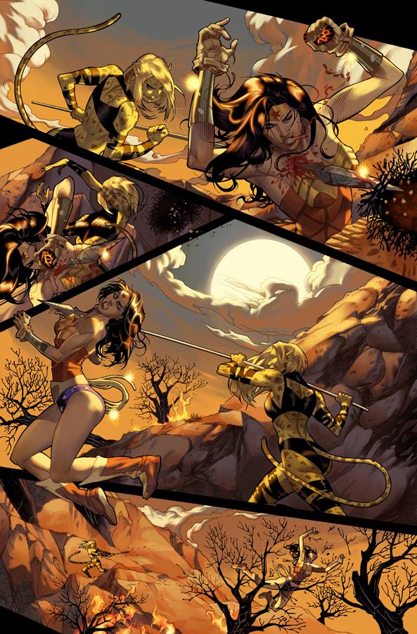 Unpublished Wonder Woman pg 5 by DrewEdwardJohnson