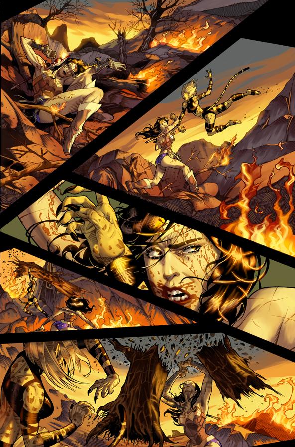Unpublished Wonder Woman pg 7 by DrewEdwardJohnson