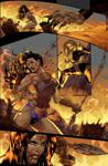 Unpublished Wonder Woman pg 9