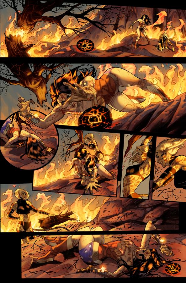 Unpublished Wonder Woman pg 13 by DrewEdwardJohnson