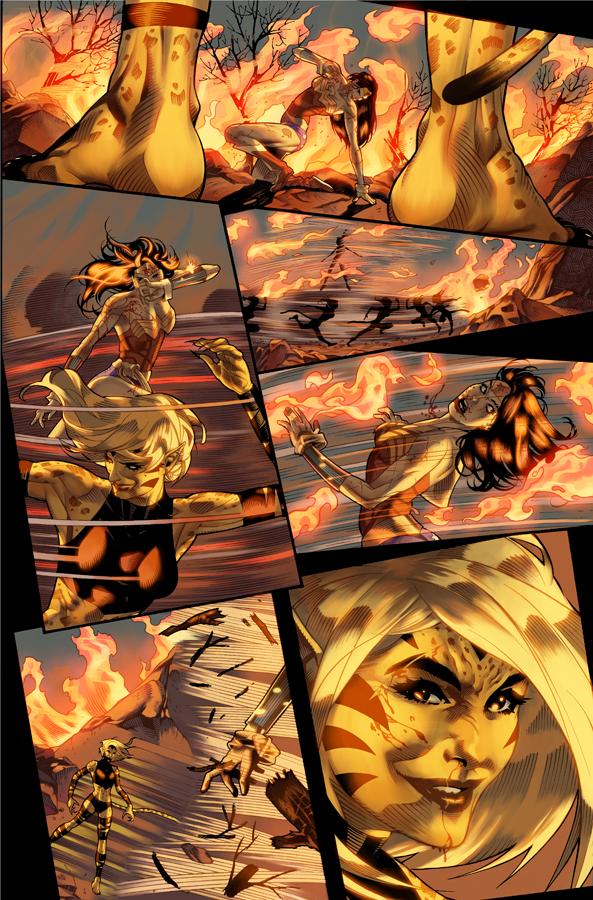 Unpublished Wonder Woman pg 15 by DrewEdwardJohnson