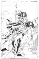 Diana and Hippolyta by DrewEdwardJohnson