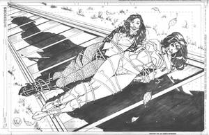 Wonder Woman and Zatanna Bound Commission