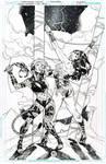 Wonder Woman---Cheetah's Revenge Commission Inked