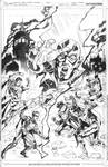 INJUSTICE: GODS AMONG US Issue 5 Cover Pencils