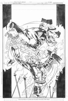 IRREDEEMABLE 27 Cover pencils