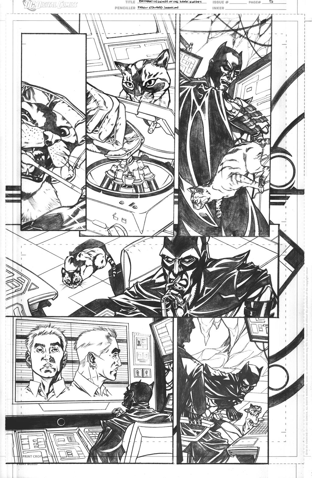 Legends of The Dark Knight 59 Page 5 by DrewEdwardJohnson