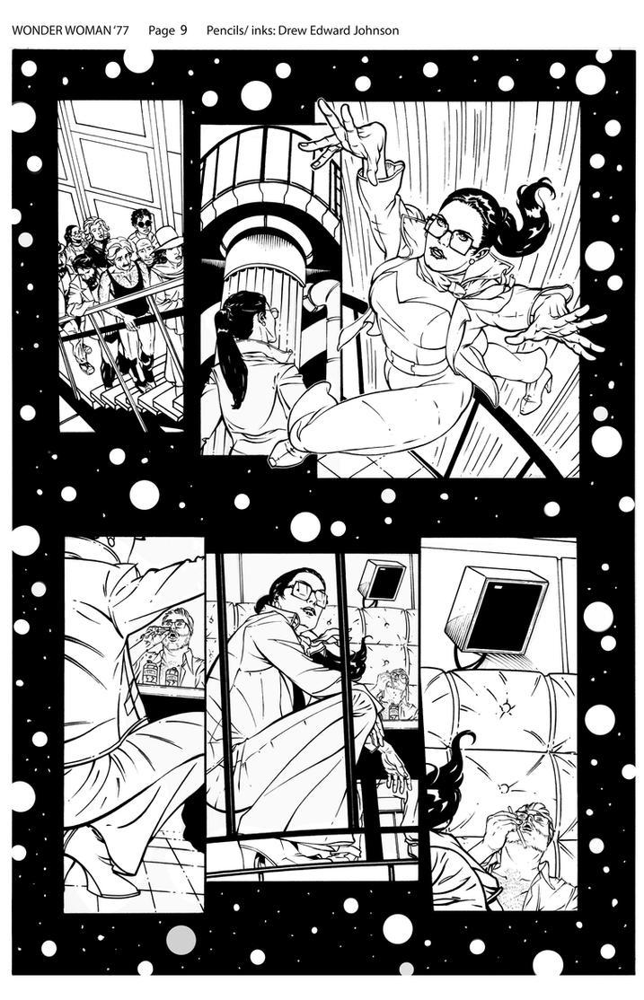Wonder Woman '77 #1 Page 9 by DrewEdwardJohnson