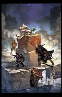 Snake Eyes: Agent of COBRA #2 Variant Cover Color by DrewEdwardJohnson