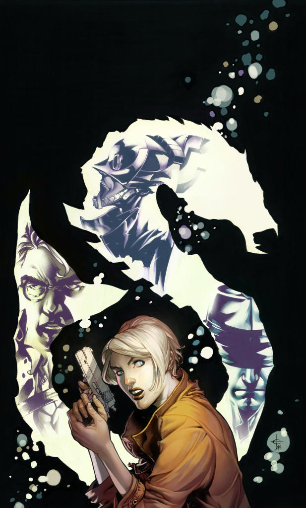 MIDNIGHT SOCIETY: THE BLACK LAKE Issue One Cover