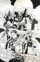 Action Man: REVOLUTION One-Shot Cover by DrewEdwardJohnson