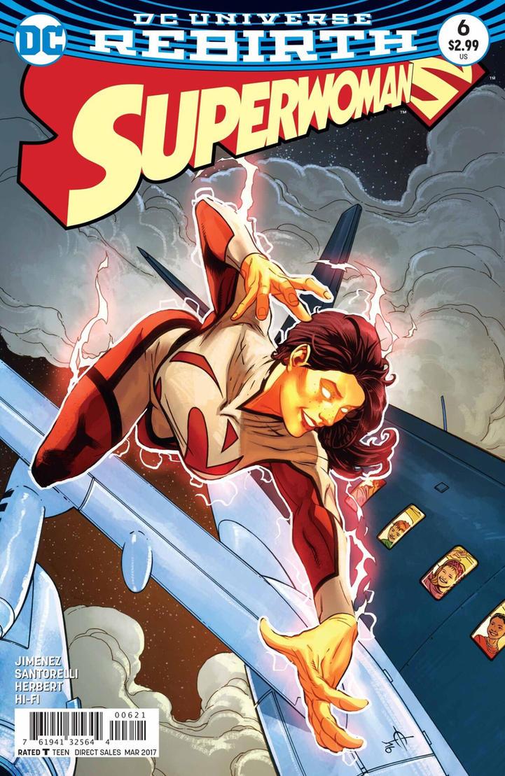 SUPERWOMAN #6 Variant Cover by DrewEdwardJohnson