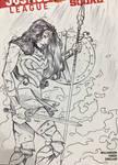 Wonder Woman Sketch Cover LBCE
