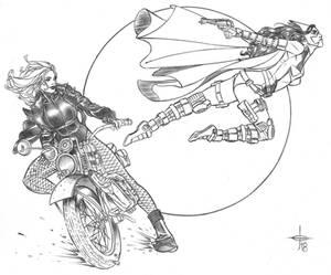 Black Canary  Huntress Commu