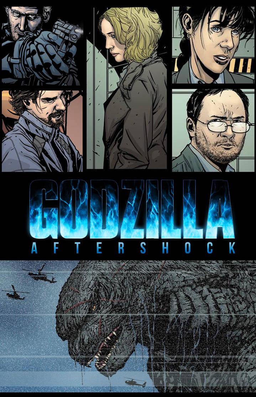 Godzilla:Aftershock Promo Image  by DrewEdwardJohnson