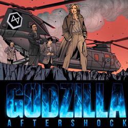 GODZILLA: AFTERSHOCK Promo Image 3 by DrewEdwardJohnson