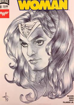 Wonder Woman Sketch Cover 5/14