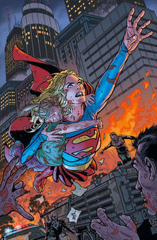 Supergirl DCEASED Variant Cover