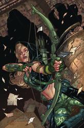 Robyn Hood: Vigilante #3a Cover