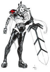 Magik 2 Ballpoint Pen Illustration