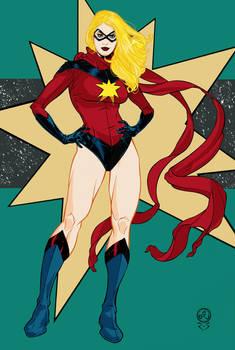 Ms Marvel Color Version