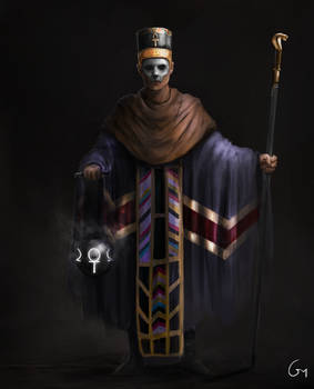 Ancient Egyptian Priest