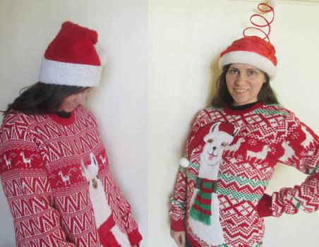 Llama Christmas Sweaters