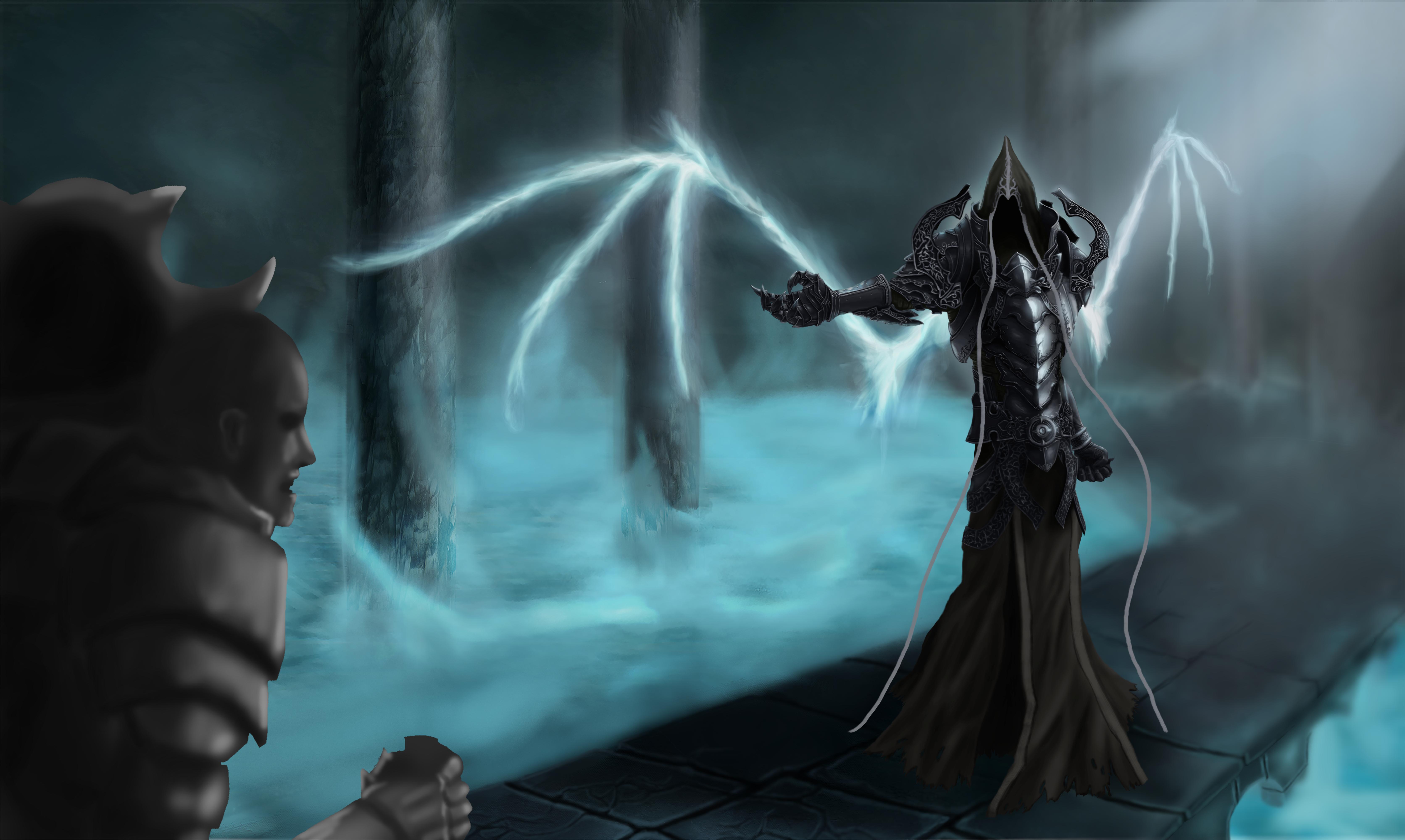WiP - Diablo 3 Reaper of Souls Contest by Yveo