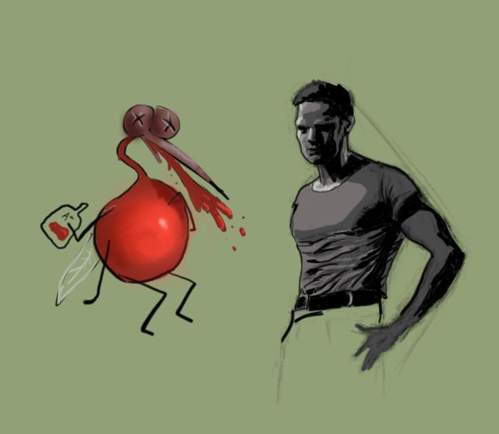 Mosquito+Brando Sketches by facundoezequiel