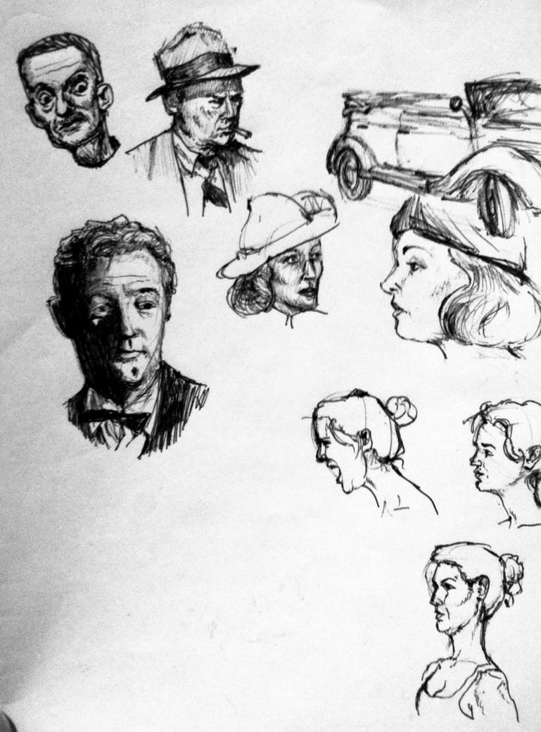 Movie Sketches by facundoezequiel