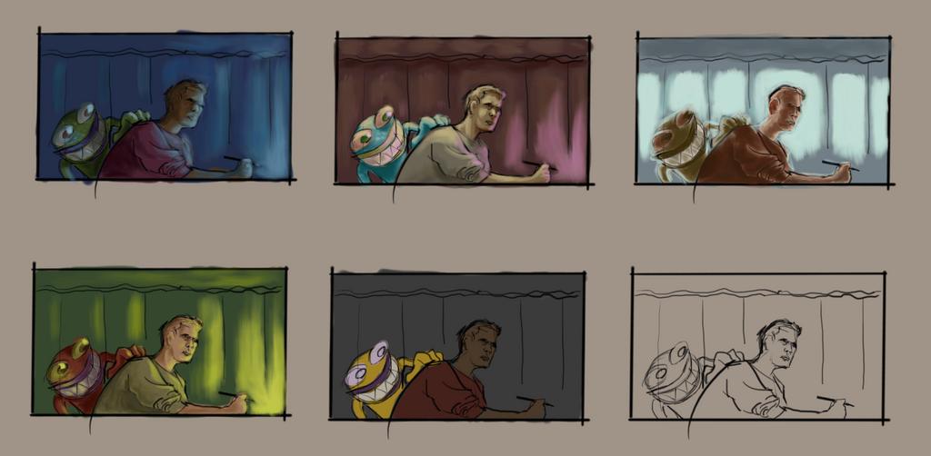 More color practice in progress by facundoezequiel